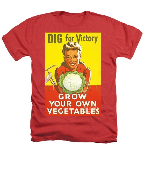 Dig For Victory Heathers T-Shirt