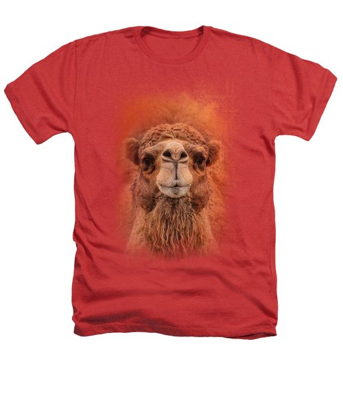 Dromedary Camel Heathers T-Shirt by Jai Johnson