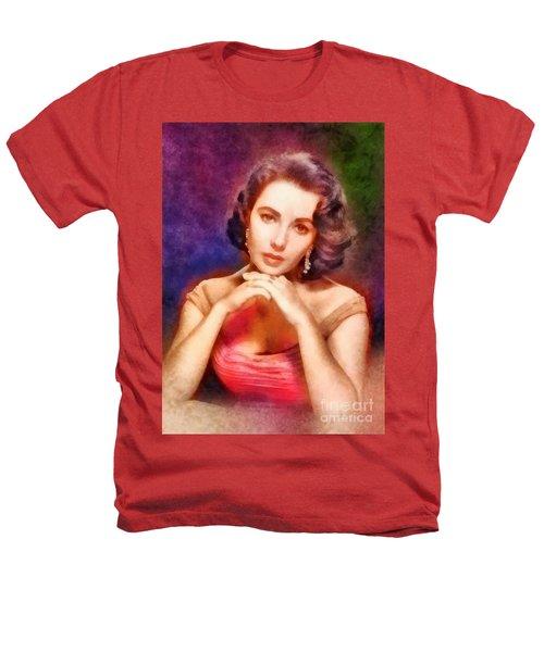 Elizabeth Taylor, Vintage Hollywood Legend Heathers T-Shirt by Frank Falcon