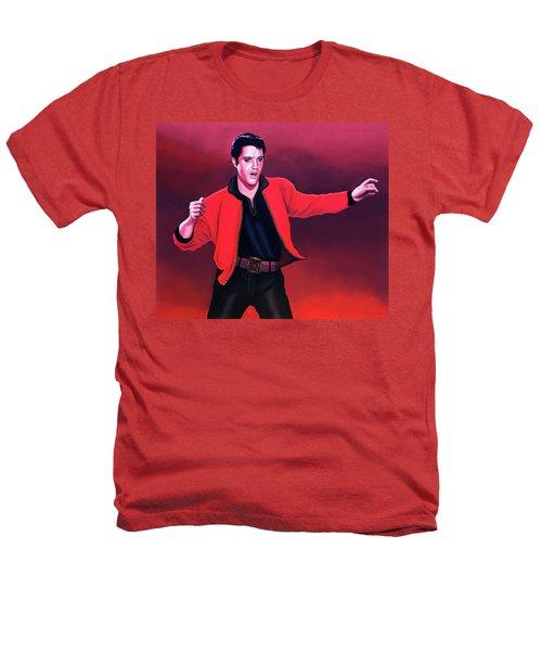 Elvis Presley 4 Painting Heathers T-Shirt by Paul Meijering