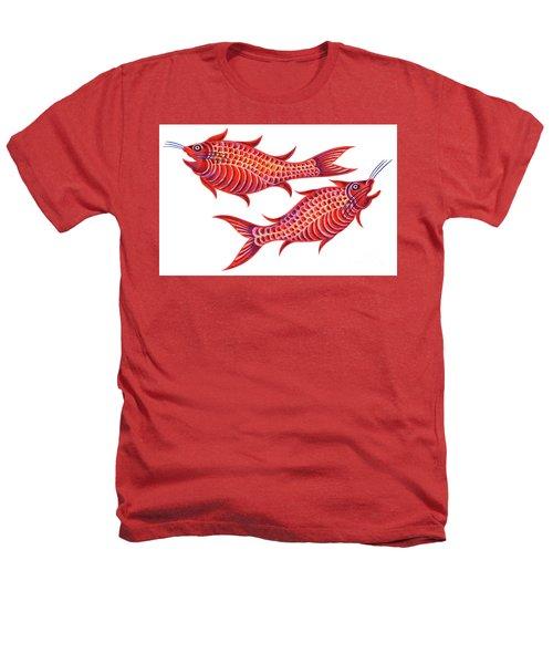 Fish Pisces Heathers T-Shirt by Jane Tattersfield