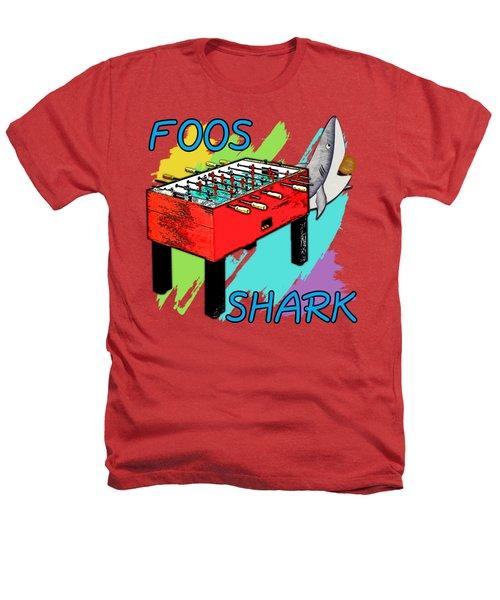 Foos Shark Heathers T-Shirt by David G Paul
