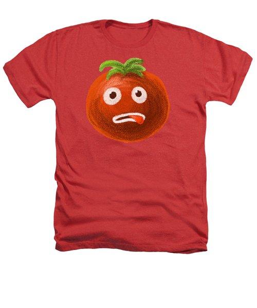 Funny Tomato Heathers T-Shirt by Boriana Giormova