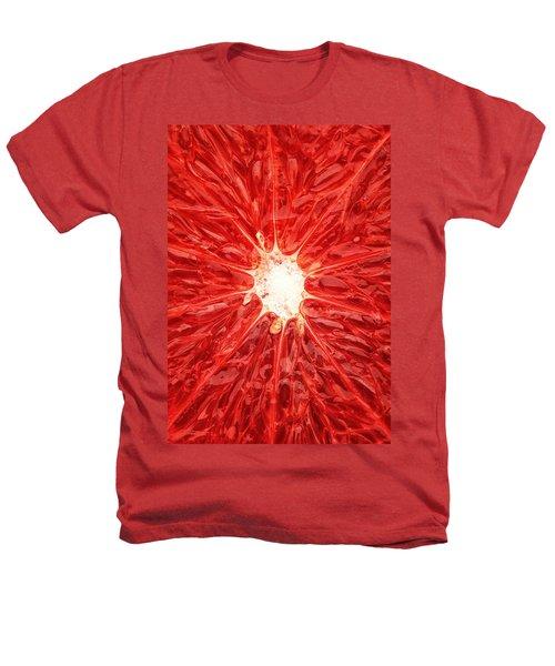 Grapefruit Close-up Heathers T-Shirt