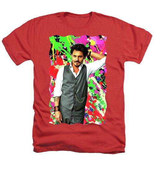 Johnny Depp - Celebrity Art Heathers T-Shirt