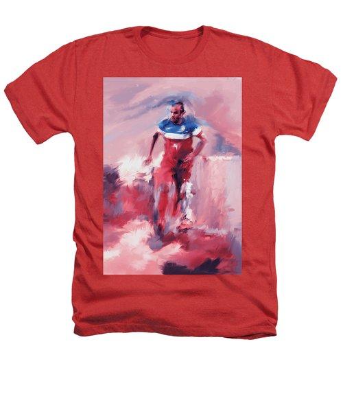 Landon Donovan 545 2 Heathers T-Shirt by Mawra Tahreem