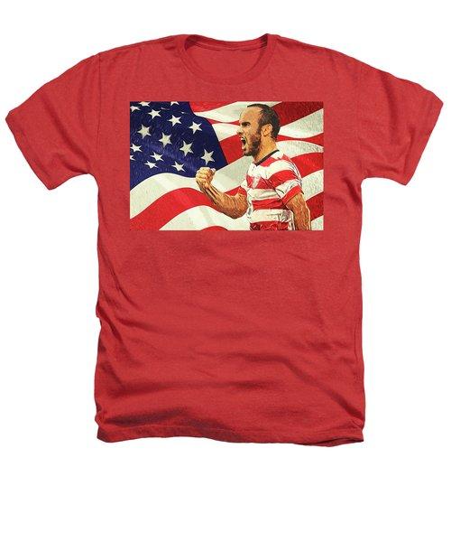 Landon Donovan Heathers T-Shirt by Taylan Apukovska