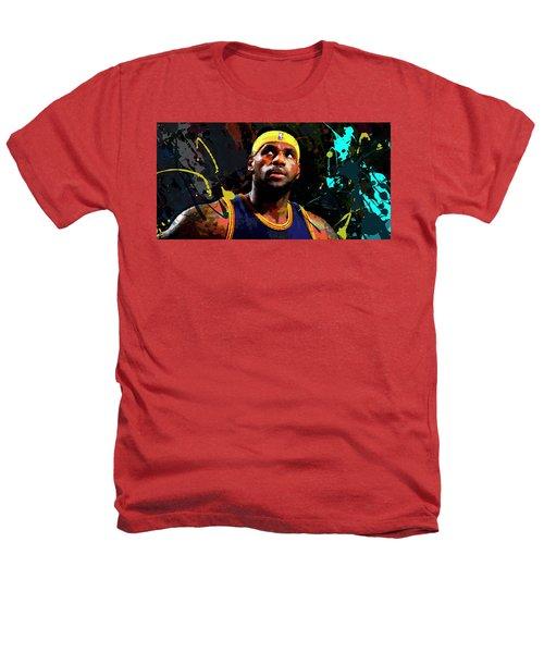 Lebron Heathers T-Shirt by Richard Day