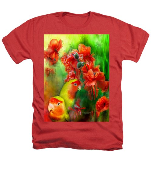 Love Among The Poppies Heathers T-Shirt