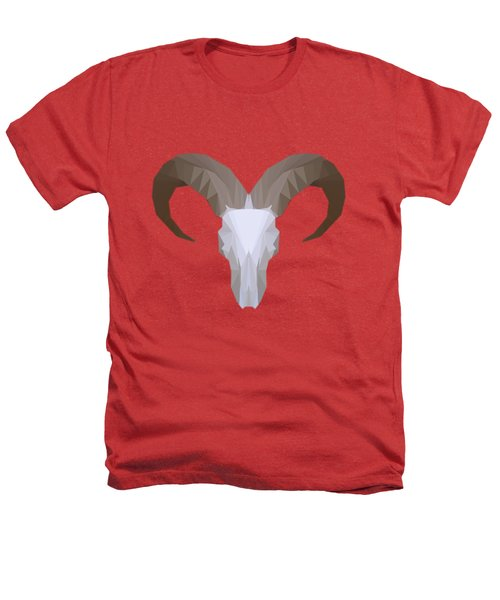 Low Poly Aoudad Heathers T-Shirt