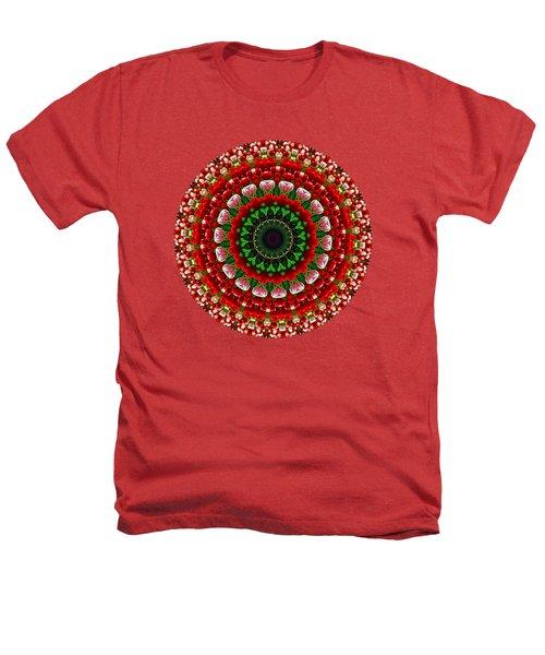 Mandala Tulipa By Kaye Menner Heathers T-Shirt by Kaye Menner