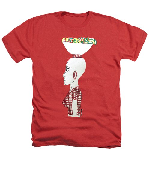 Market Woman1 Heathers T-Shirt