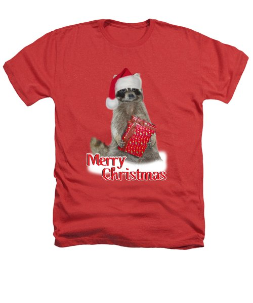 Merry Christmas -  Raccoon Heathers T-Shirt