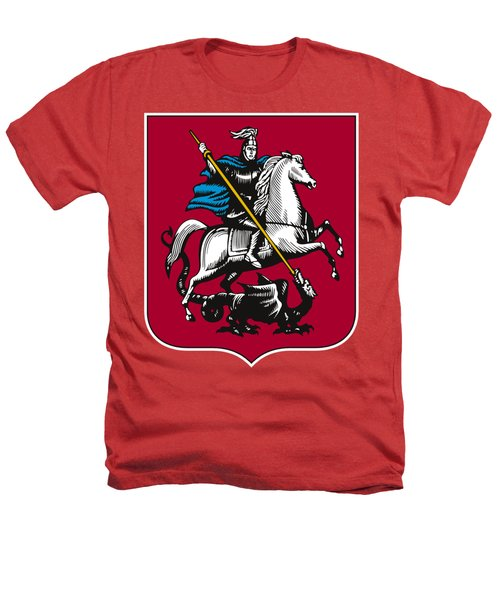 Moscow Coat Of Arms Heathers T-Shirt