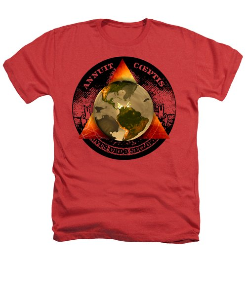 New World Order By Pierre Blanchard Heathers T-Shirt by Pierre Blanchard