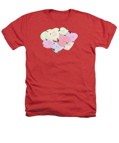 No Love Here Heathers T-Shirt