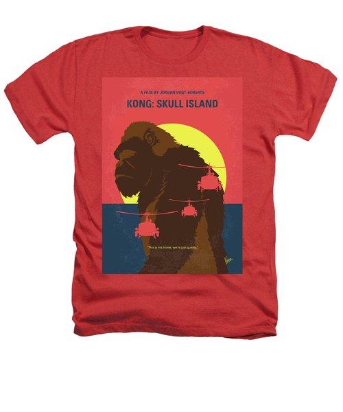 No799 My Skull Island Minimal Movie Poster Heathers T-Shirt