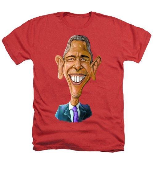 Obama Caricature Heathers T-Shirt