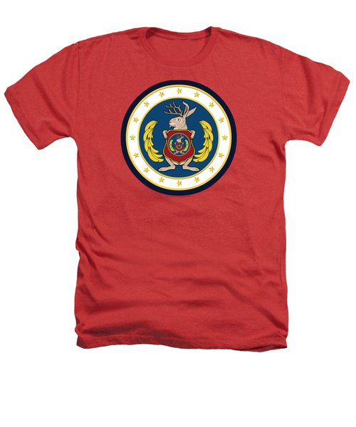 Official Odd Squad Seal Heathers T-Shirt by Odd Squad