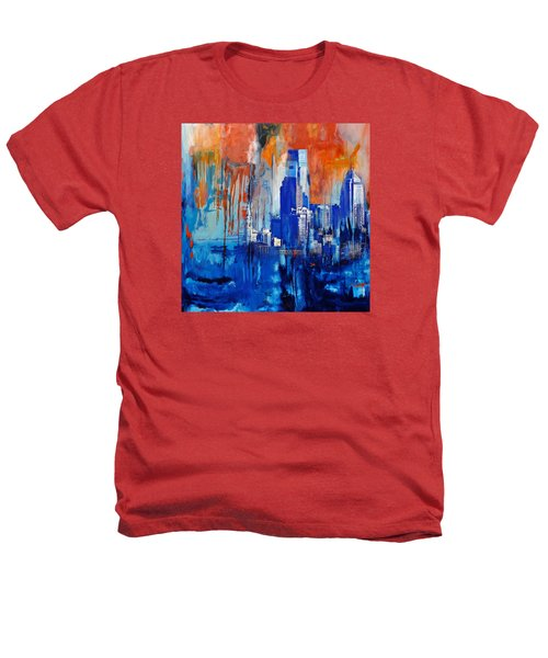 Philadelphia Skyline 227 1 Heathers T-Shirt by Mawra Tahreem