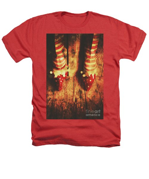 Retro Elf Toes Heathers T-Shirt