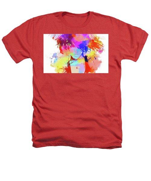 Rihanna Paint Splatter Heathers T-Shirt