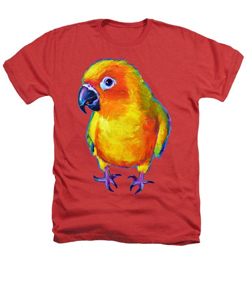 Sun Conure Parrot Heathers T-Shirt