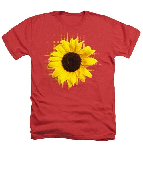 Sunflower Sunburst Heathers T-Shirt