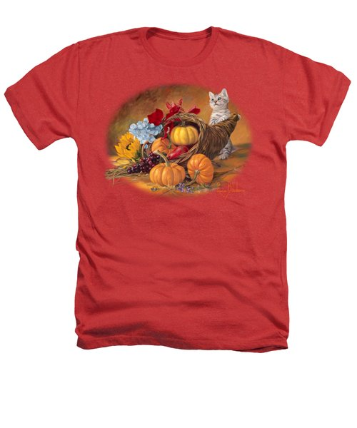 Thankful Heathers T-Shirt by Lucie Bilodeau