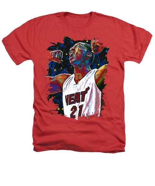 The Whiteside Flex Heathers T-Shirt by Maria Arango