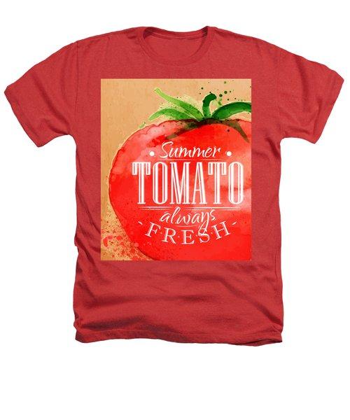 Tomato Heathers T-Shirt by Aloke Creative Store