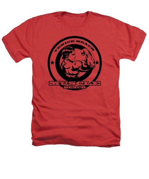 Venice Beach Arnold Muscle Heathers T-Shirt