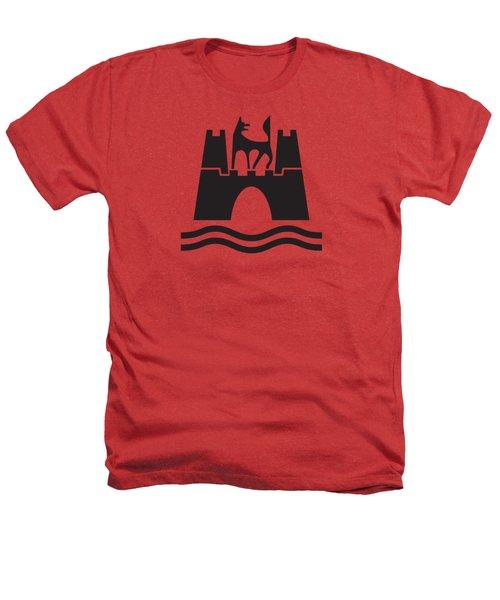 Wolfburg Logo Heathers T-Shirt by Ed Jackson