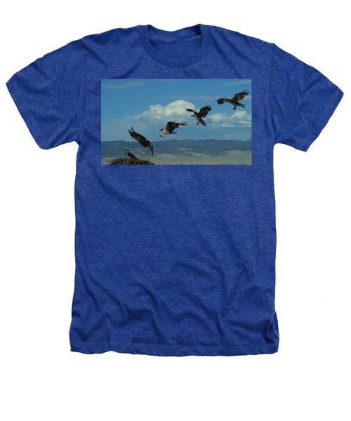 Landing Pattern Of The Osprey Heathers T-Shirt