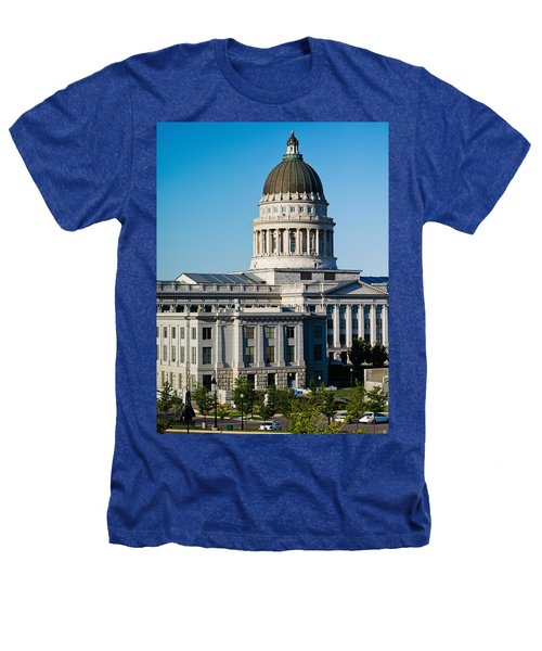 Utah State Capitol Building, Salt Lake Heathers T-Shirt by Panoramic Images
