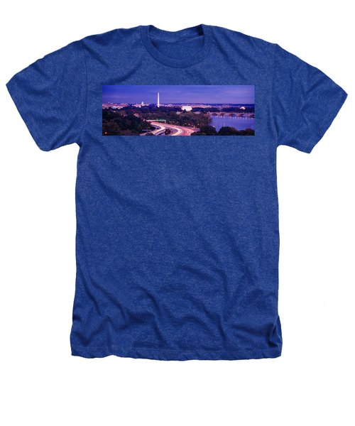 High Angle View Of A Cityscape Heathers T-Shirt