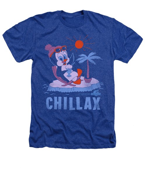 Chilly Willy - Chillax Heathers T-Shirt