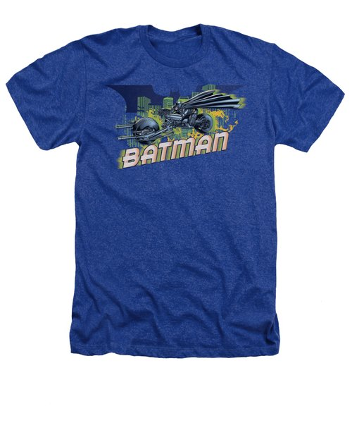 Dark Knight Rises - Wheels On Fire Heathers T-Shirt