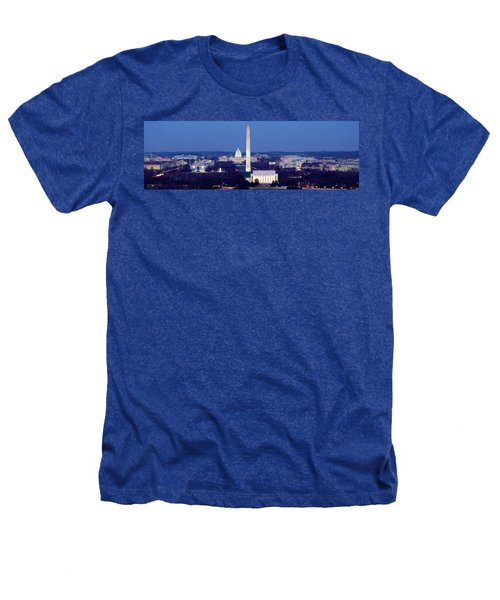 High Angle View Of A City, Washington Heathers T-Shirt
