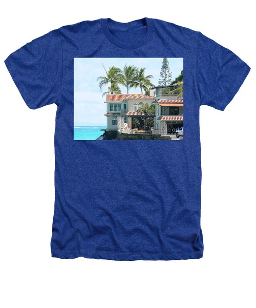 House At Land's End Heathers T-Shirt by Dona  Dugay
