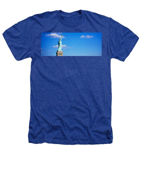 Low Angle View Of A Statue, Statue Heathers T-Shirt