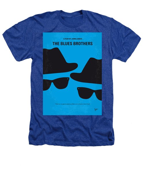No012 My Blues Brother Minimal Movie Poster Heathers T-Shirt by Chungkong Art