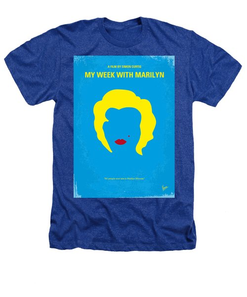 No284 My Week With Marilyn Minimal Movie Poster Heathers T-Shirt