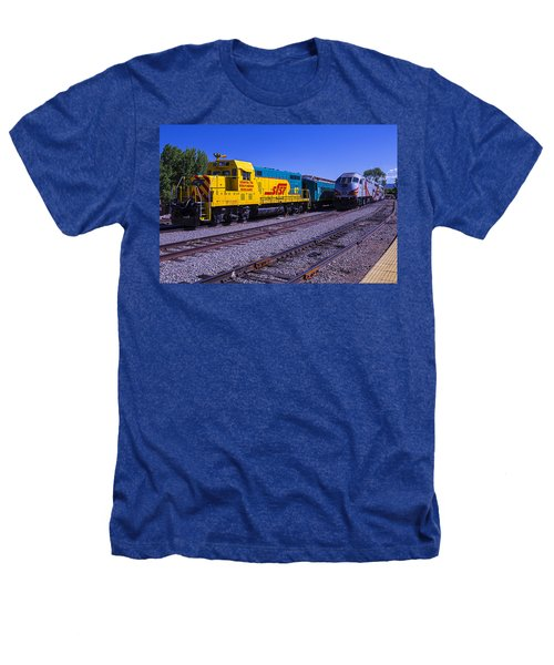 Two Trains Heathers T-Shirt