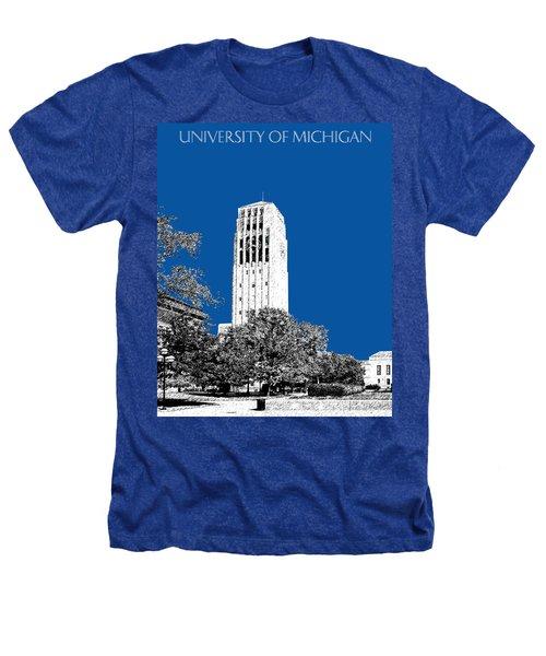 University Of Michigan - Royal Blue Heathers T-Shirt