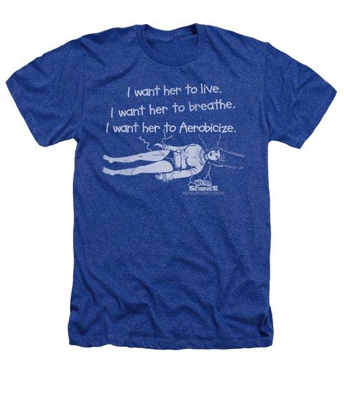 Weird Science - Aerobicize Heathers T-Shirt