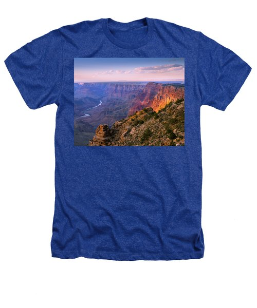 Canyon Glow Heathers T-Shirt by Mikes Nature