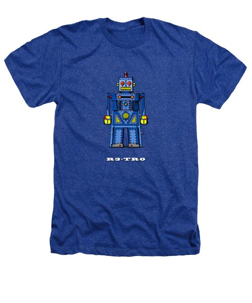 R3 Tr0 Robot Heathers T-Shirt