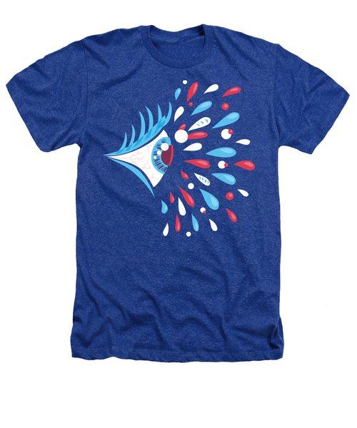 Psychedelic Eye Heathers T-Shirt