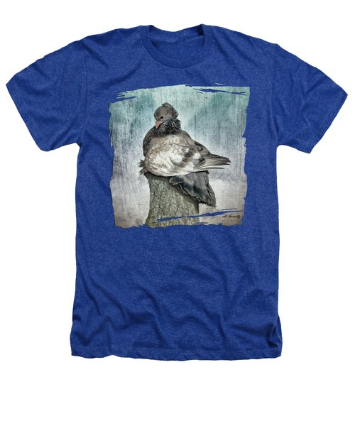 Maragold Heathers T-Shirt by Shari Nees